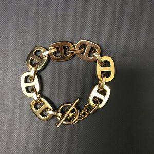 Michael Kors Gold Chain Link Bracelet